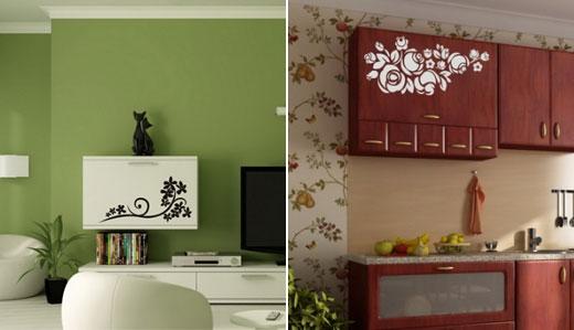 Декор мебели наклейки
