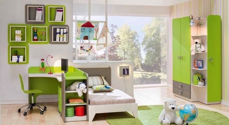 Детский комплект современной мебели