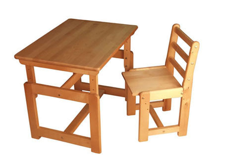 Детский набор мебели стул и стол