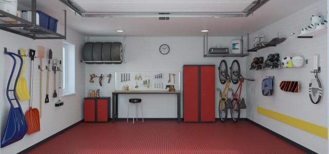 Дизайнерская мебель для гаража