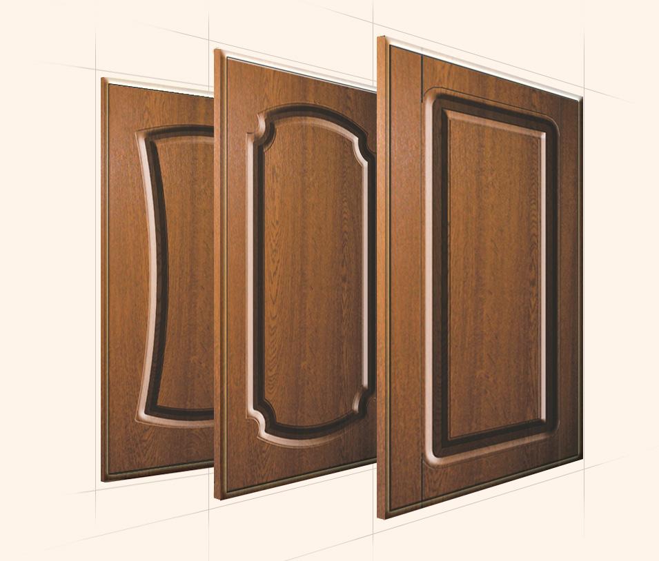 Дверцы с покрытием ПВХ