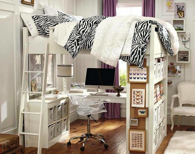 Двухъярусная практичная кровать