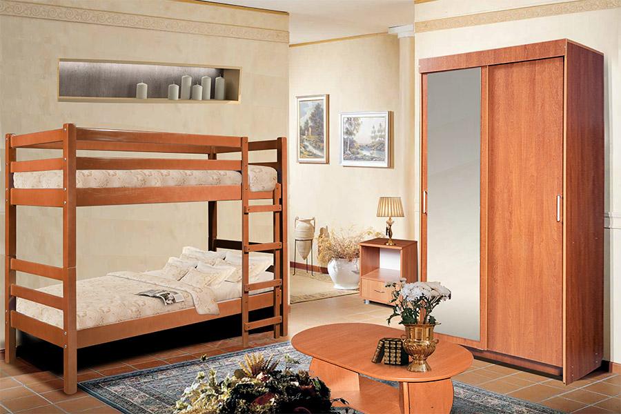 Двухъярнусная кровать
