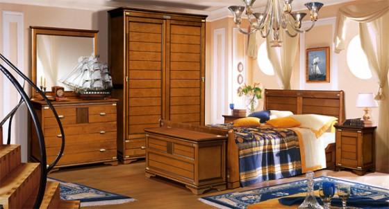 Экологически чистый набор спальной мебели