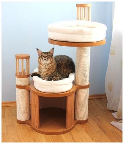 Эксклюзивная мебель для животных с когнеточкой