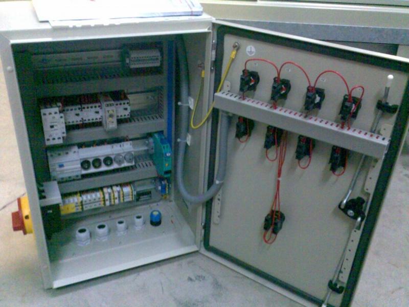 Электрический шкаф управления испарителем