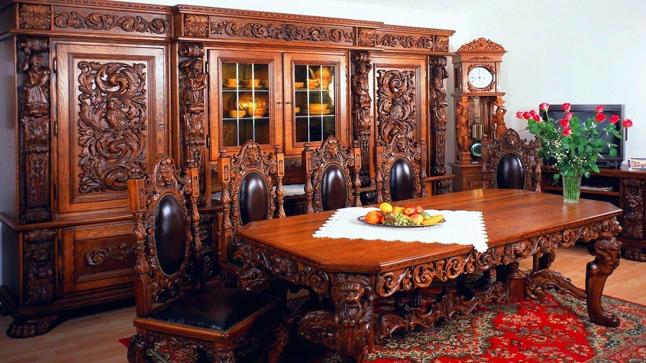 Элитный стиль интерьера обеденной комнаты