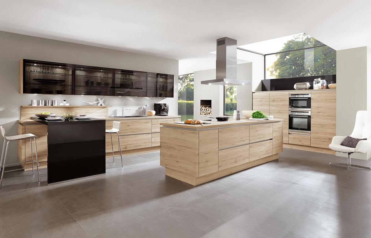 Эстетика современного кухонного гарнитура бежевого цвета