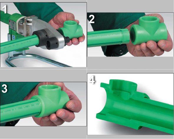 Как сваривают трубы из пластика