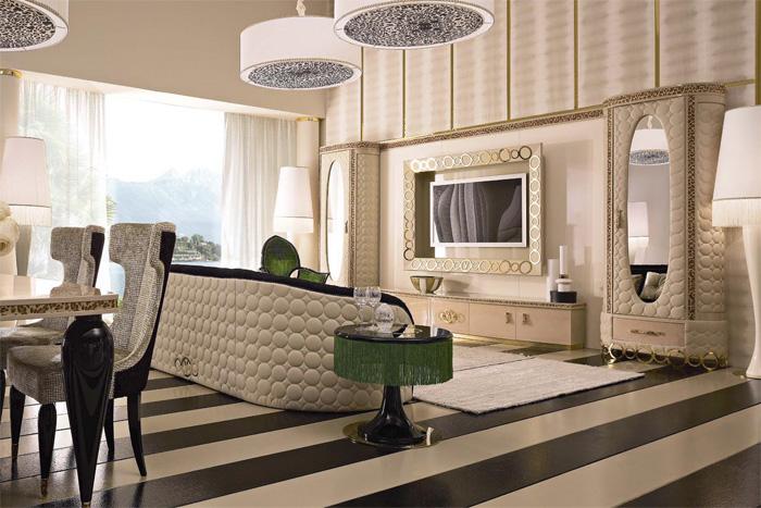 Европейская мебель для гостиной комнаты - выбор