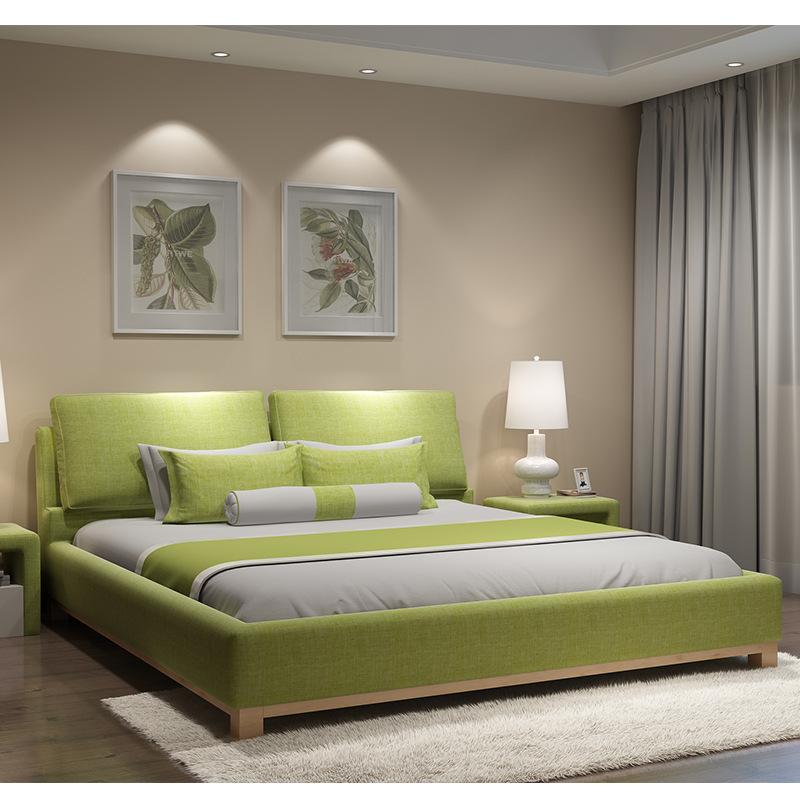Европейский мягкие спальные кровати мебель для спальни