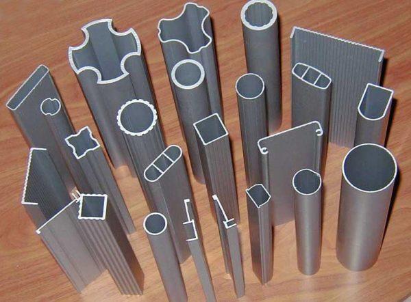 Форма алюминиевого профиля