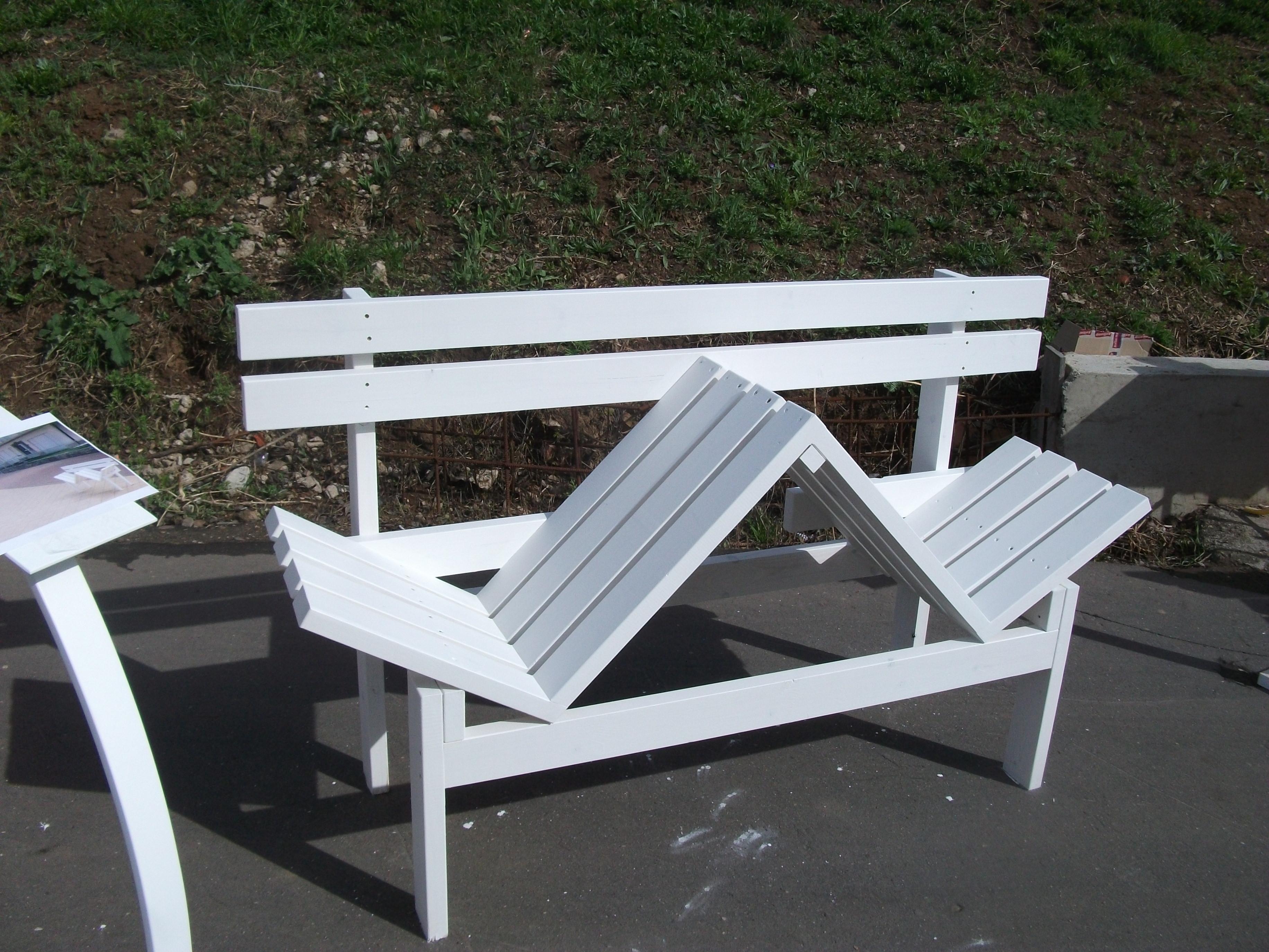 Функциональная скамейка