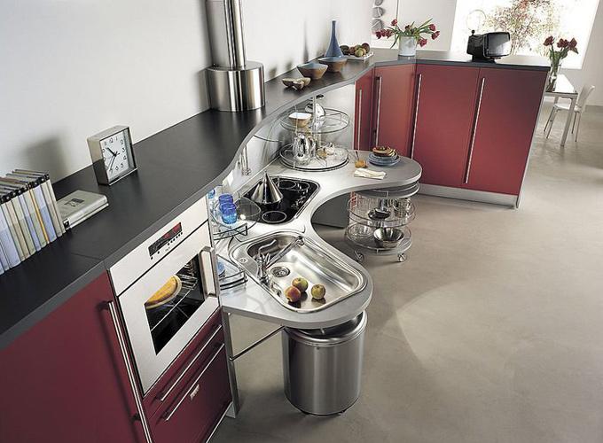 Функциональность современной кухни