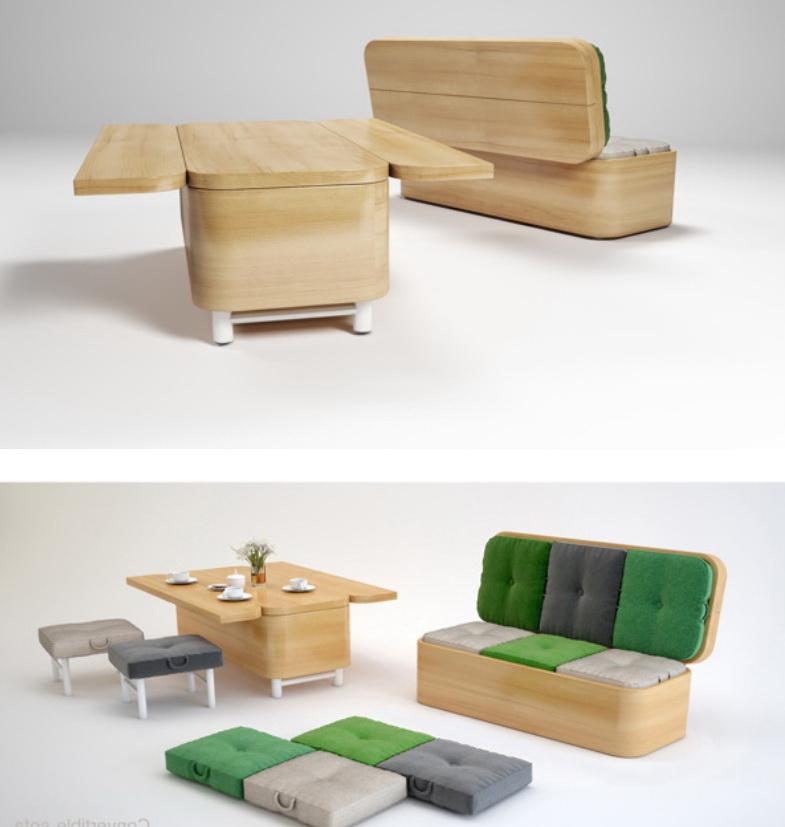 Функциональность современной мебели