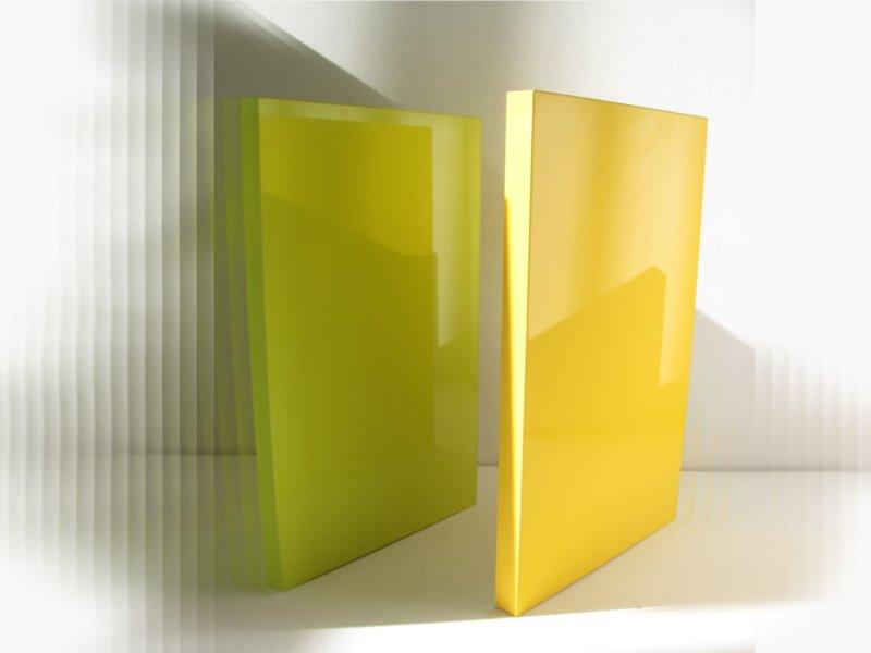 Глянцевые покрытия мебели желтого цвета