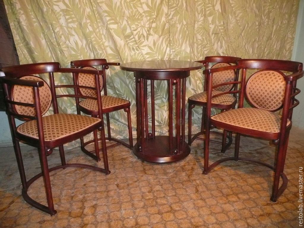 Гнутая красивая мебель