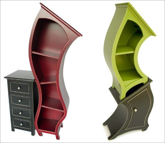 Гнутые фасады мебели