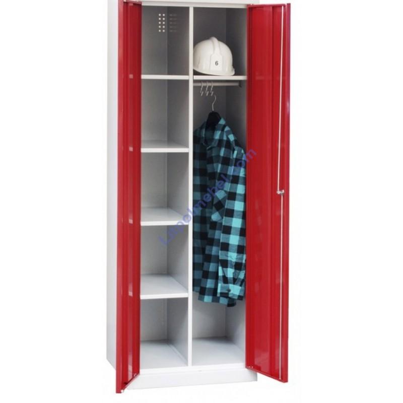Хозяйственный металлический шкаф