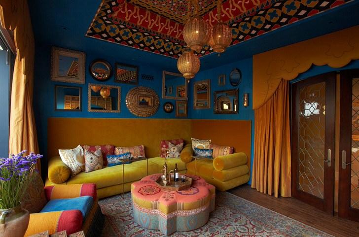 Индийская мягкая мебель