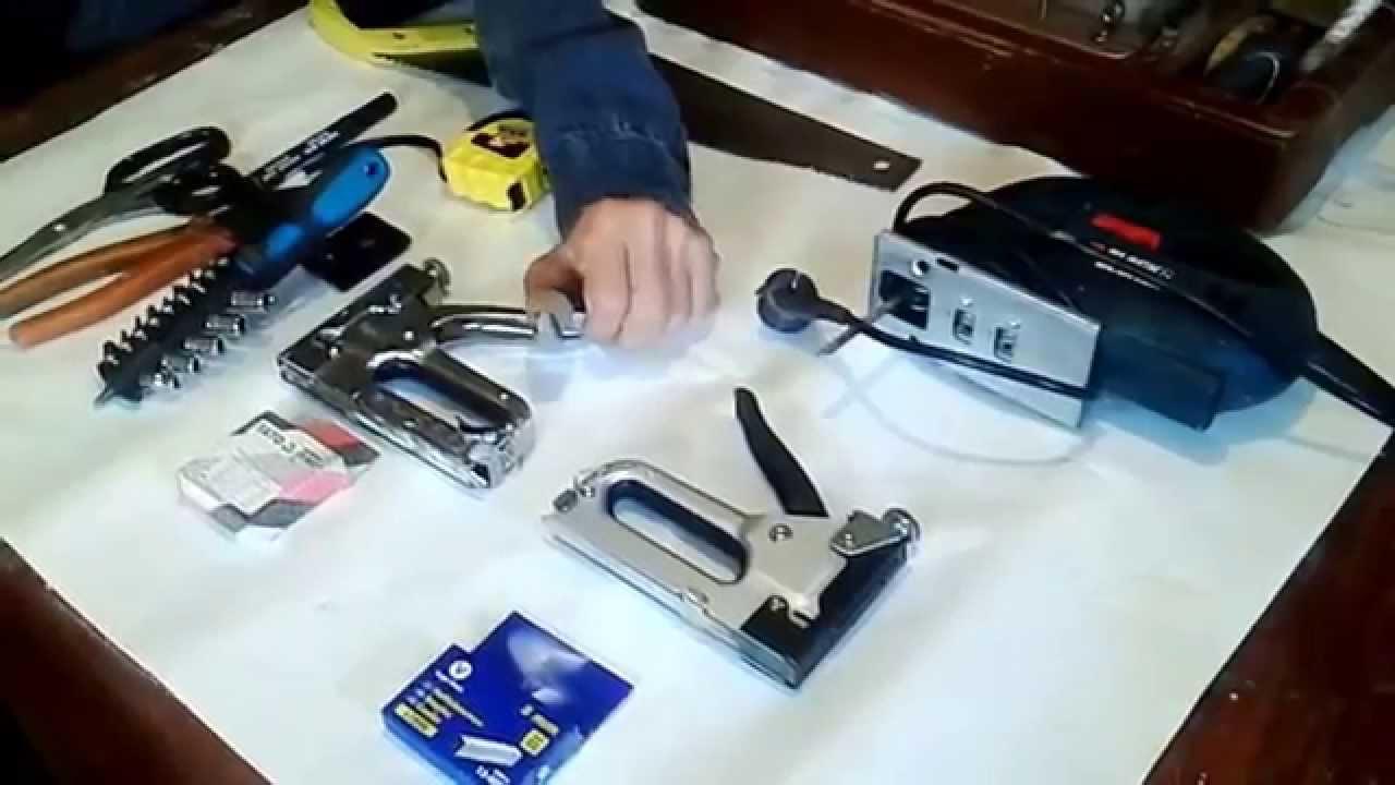 Инструменты для пределки мебели