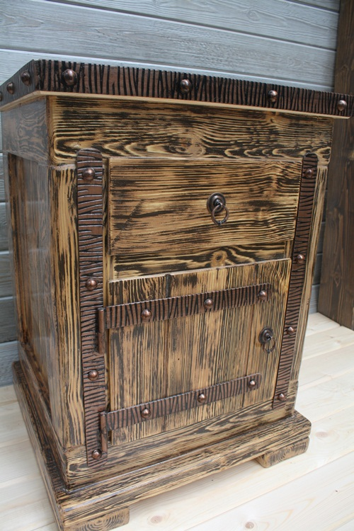 Искусственное старение древесины