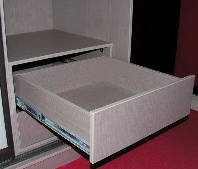 Из чего создают ящики корпусной мебели