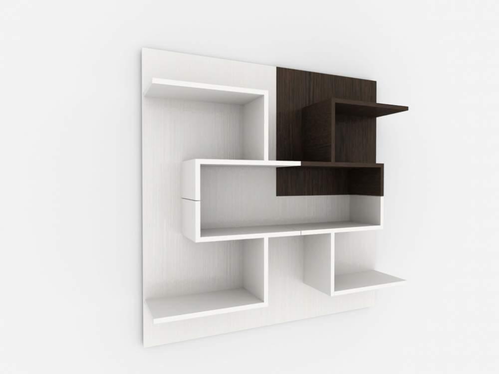 Как красиво оформить стену мебелью