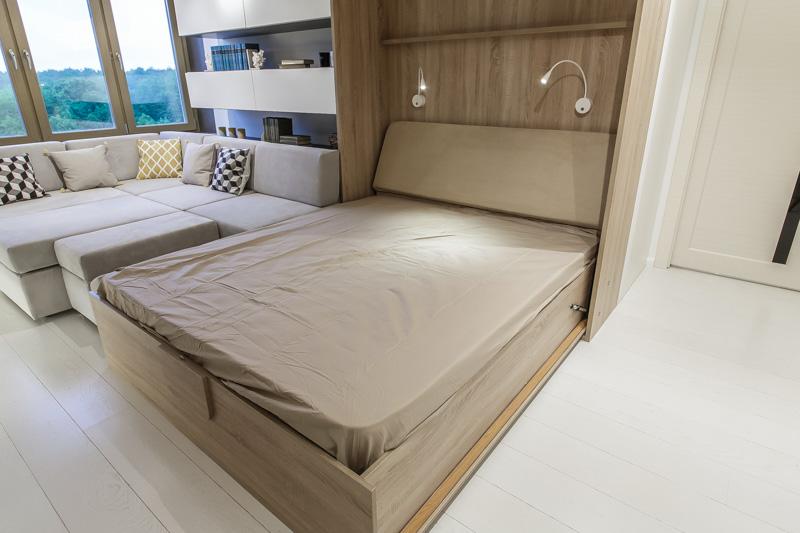 Как разместить кровать практично