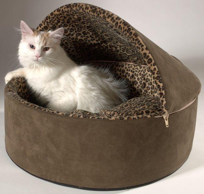 Как сделать лежанку для кота