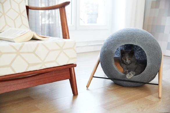 Как сделать уголок для кота