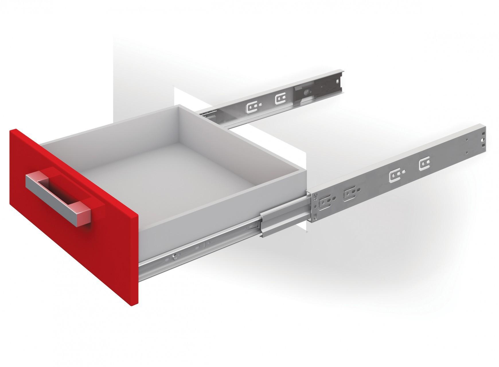Как установить ящики для мебели