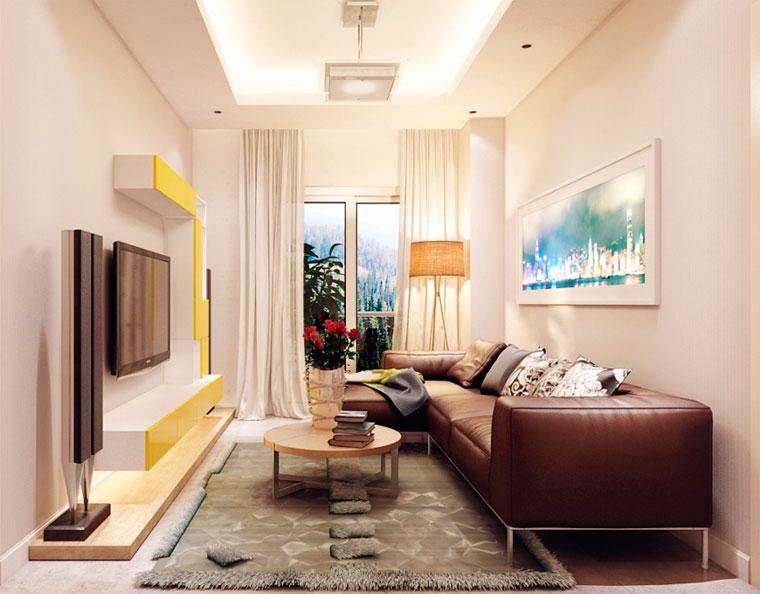 Как выбрать расставить мебель в небольшой комнате