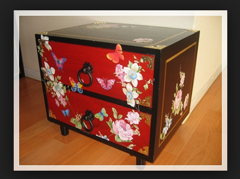 Какими красками преобразовать мебель