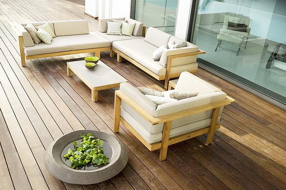 Какую мебель поставить на террасе