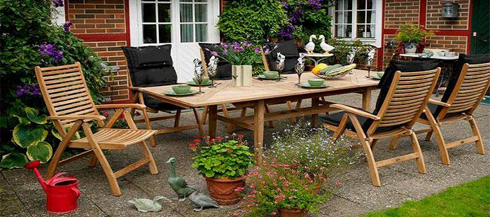 Коллекция практичной мебели для принятия обеда