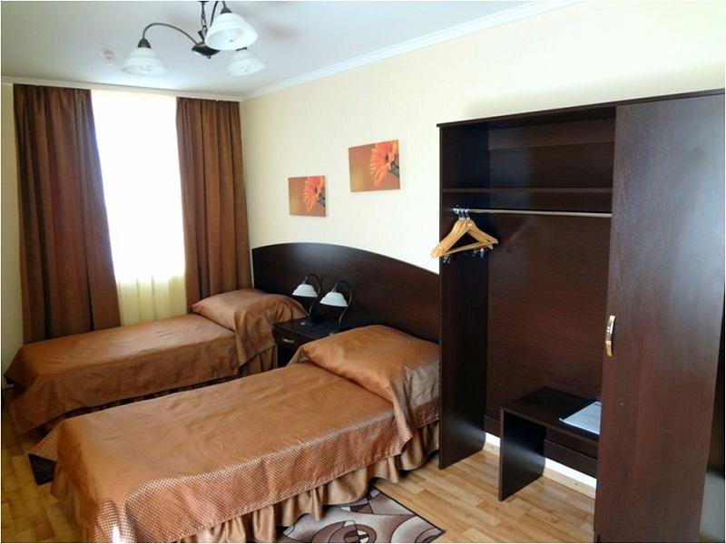 Комната с простым дизайном