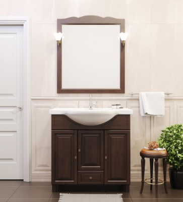 Комод и зеркало для ванной комнаты