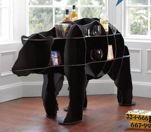 Корпусная мебель в виде барашка