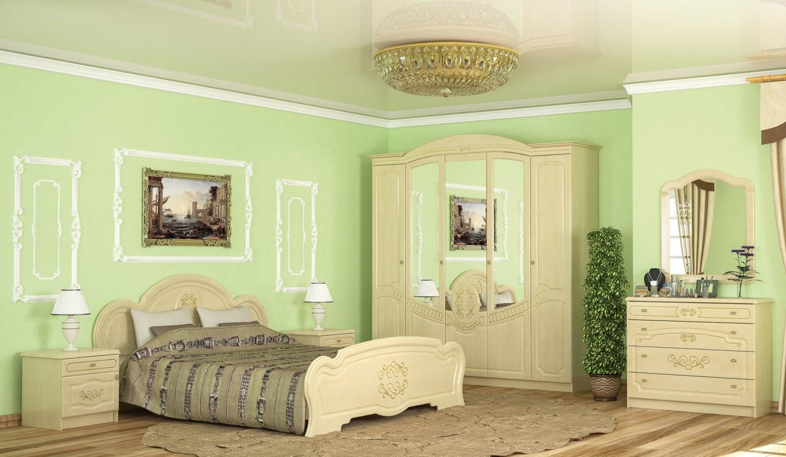 Корпусная спальная мебель