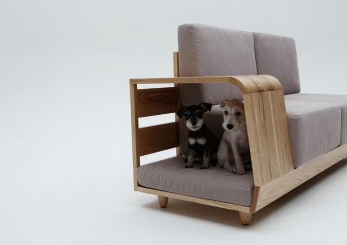 Красивая дизайнерская мебель для животных