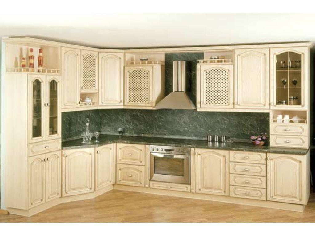 Красивый интерьер кухни с современной мебелью