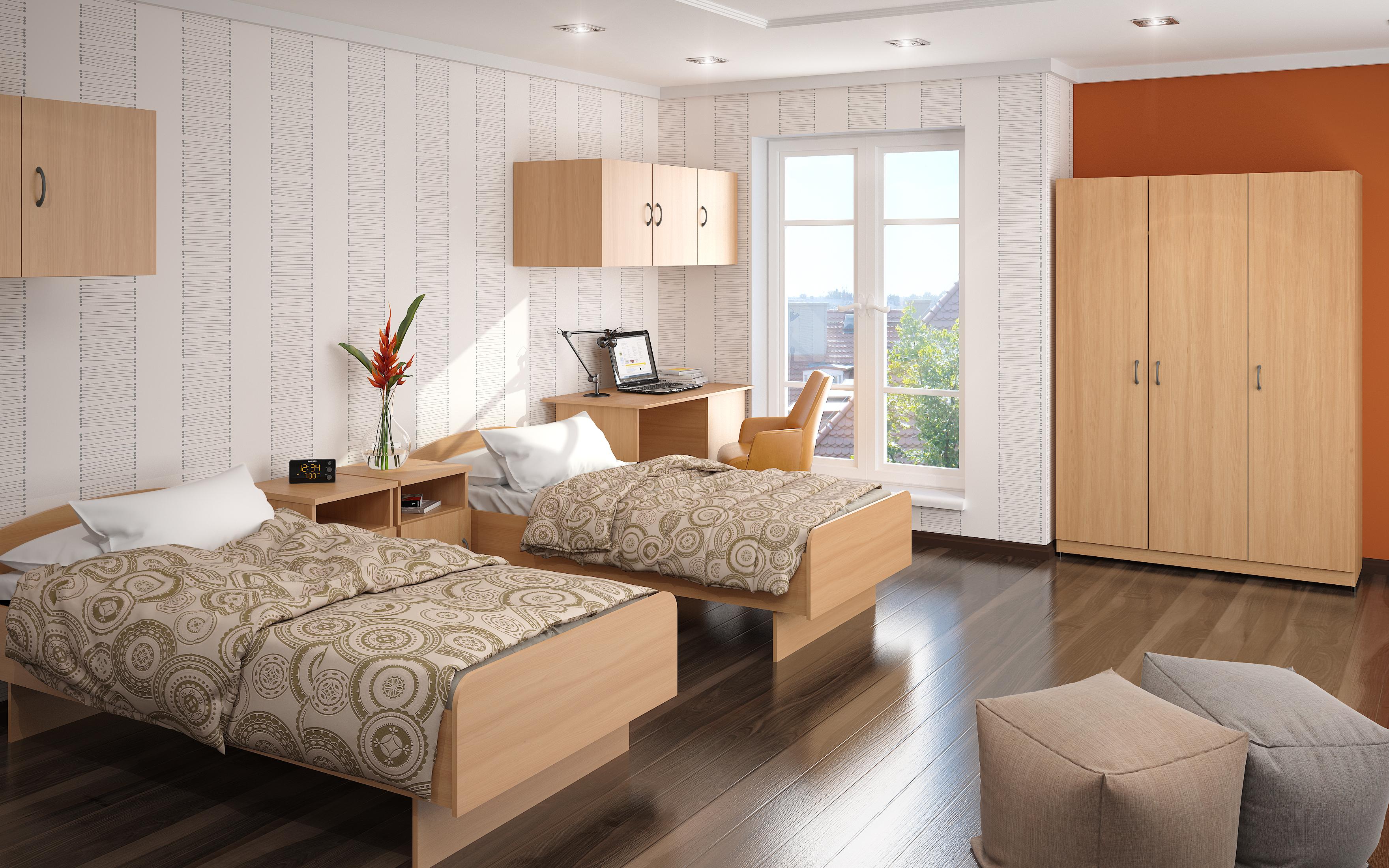Красивый современный дизайн комнаты