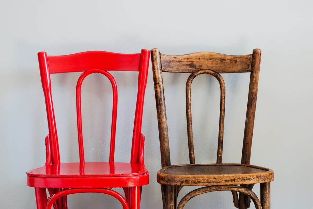 Краска для реставрации стульев