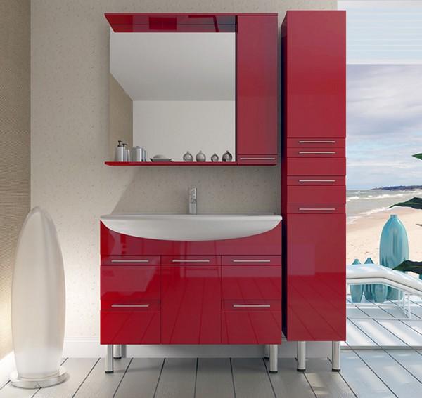 Красные покрытия мебели