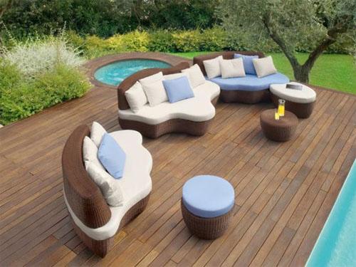 Креативная мебель для сада