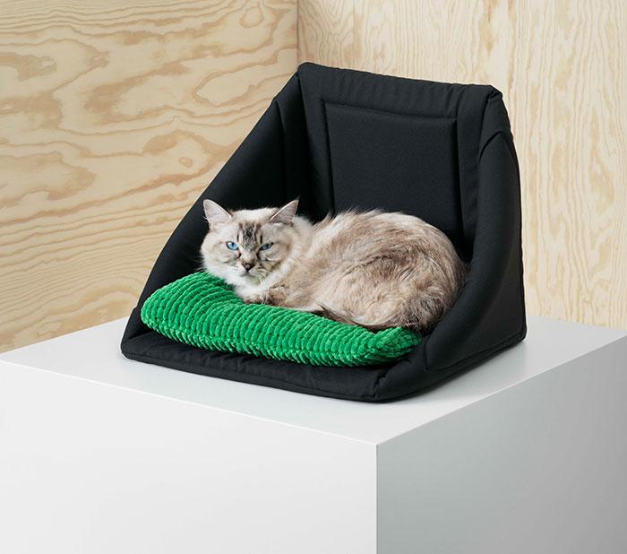 Кресло без каркаса для домашних кошек