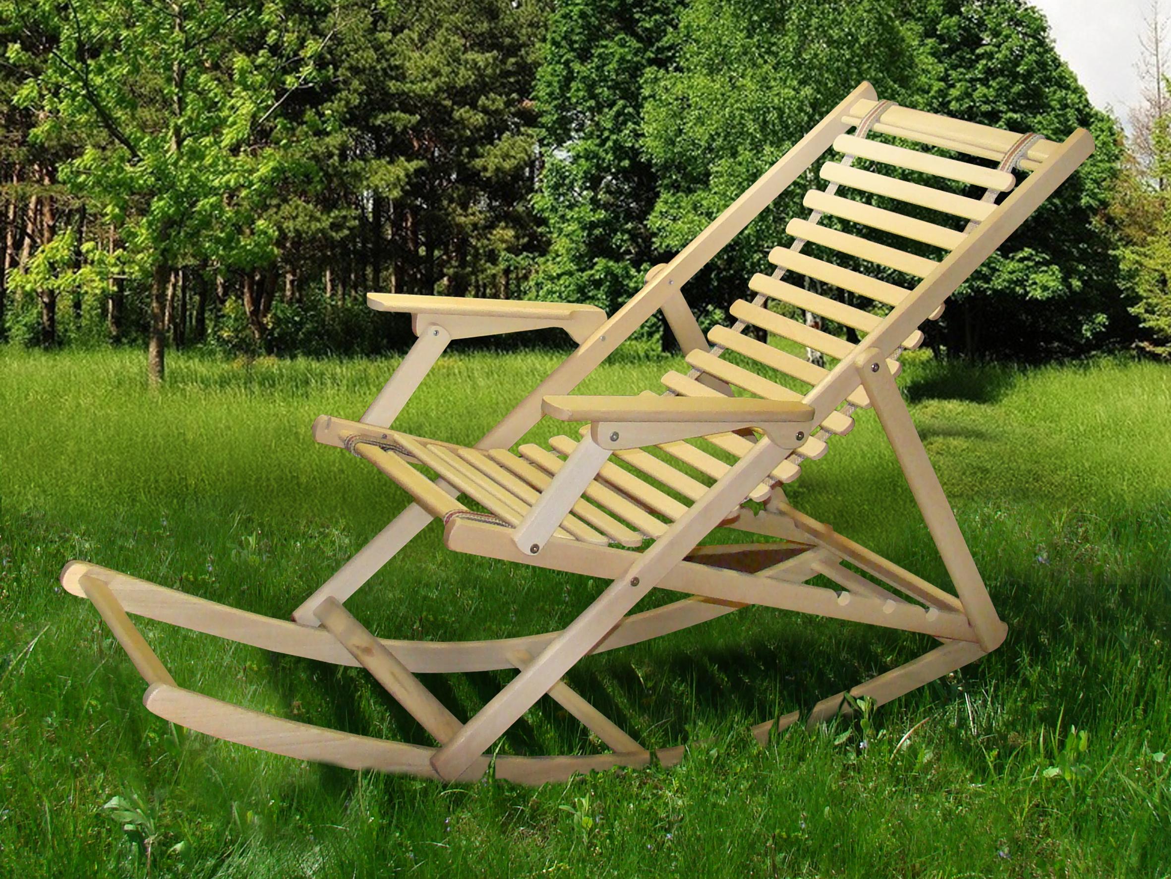 Кресло-качалка для улицы