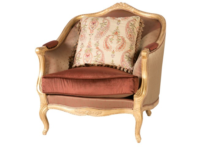 Кресло в стиле рококо
