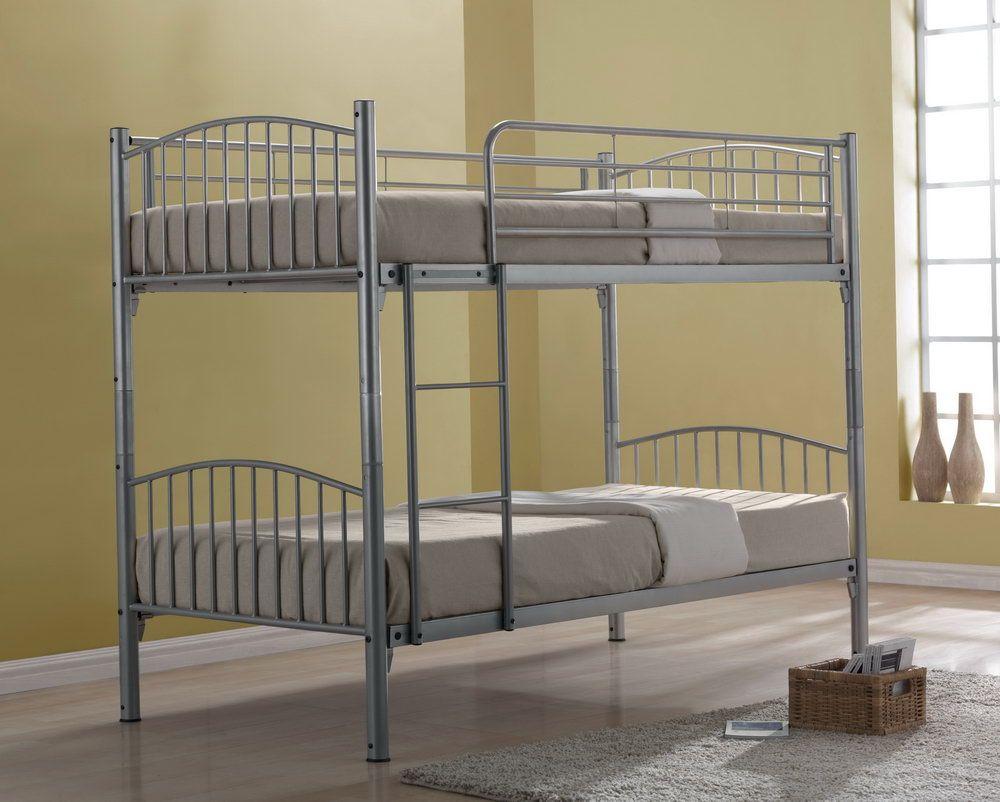 Кровать из нержавеющей стали высокая